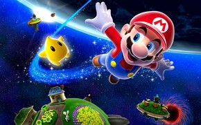 Игры: супер марио, космос, звезда