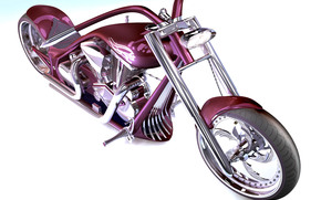 Мотоциклы: тюнинг, колеса, руль, цвет