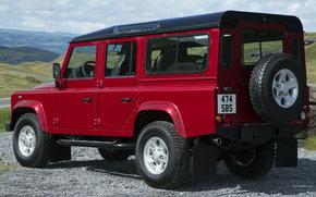 Машины: Land Rover, Defender, авто, машины, автомобили