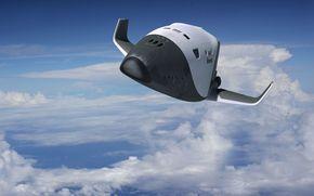 Космос: Клипер, Россия, космос, небо, облака, корабль, космический, проект