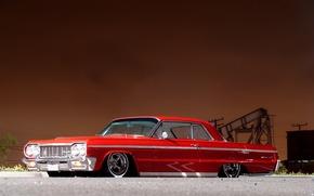 Машины: низко, шевроле, импала, Chevrolet