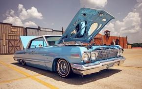 Машины: Chevrolet Impala, lowrider, авто, автомобили, машины, авто