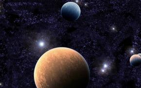 Космос: планеты, звезды, небо