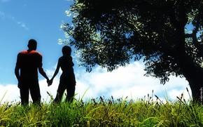Рендеринг: природа, пейзаж, любовь, чувства