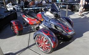 Мотоциклы: atv, dub, sema, tuning, квадроцикл, тюнинг, выставка