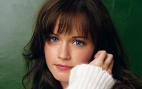 Кинозвезды: mood, alexis bledel, american actress, blue eyes