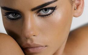 ����������: daniela freitas, top model, brazil, brunette, eyes, the look, lips, mouth