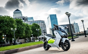 Мотоциклы: bmw, c-evolution, scooter, electric, ecologic, london, 2012