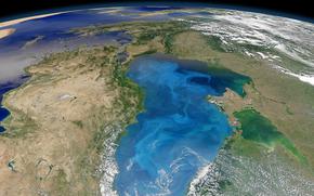 Космос: Черное, Азовское, море, Крым, Турция