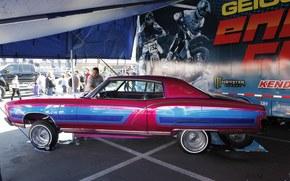 Машины: buick, skylark, maxxis, 1972, lowrider, tuning, sema, Бьюик, Скайларк, тюнинг, выставка, автошоу, лоурайдер