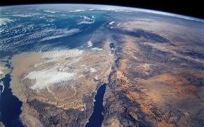 Космос: Земля, Синай, Суэцкий канал, Африка, Аравийский полуостров, Красное море