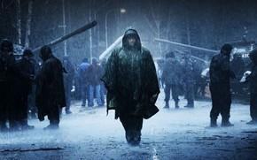 Фильмы: Вавилон Н.Э., Вин Дизель, дождь, люди, город, танки