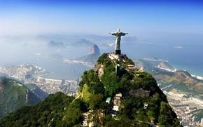 Город: Статуя, Христа Спасителя, Рио-де-Жанейро