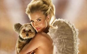 ����������: joanna krupa, top model, varsovia, poland, blonde, peta ad campaign 2009