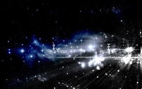 Космос: небо, звезды, абстракция