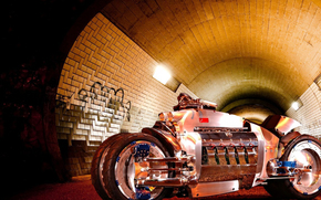 Мотоциклы: Свет, тунель, байк, мото, фантастика.