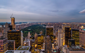 Город: США, Штат Нью-Йорк, Нью-Йорк, Рокфеллеровский Центр, usa, state new york, new york, rockefeller center, парк