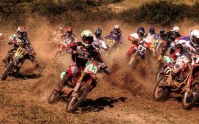 Мотоциклы: мотоциклы, мотоцыклисты, гонки