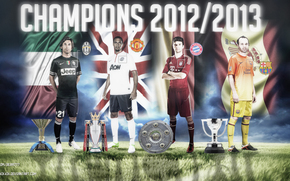 Спорт: champions 12/13 mu, juventus, bayern, barcelona