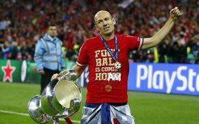 Спорт: Лига Чемпионов, Игрок финала, Аррьен Роббен