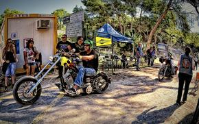 Мотоциклы: harley-davidson, big twin Клуб, Испании