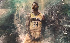 Спорт: Paul George, Пол Джордж, Indiana, Pacers, Индиана, Пэйсерс, Спорт, Баскетбол, NBA, Игрок