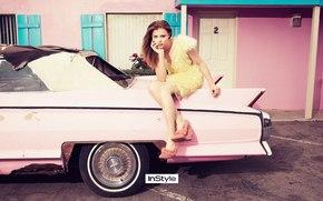 Кинозвезды: Chloe Moretz, blond, car