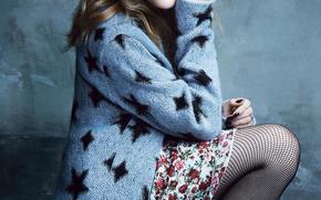 Кинозвезды: Chloe Moretz, actress, blond