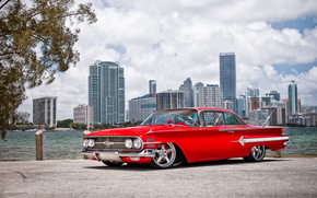 Машины: Wheels Boutique & HRE Wheels, 1960, Chevrolet, Impala