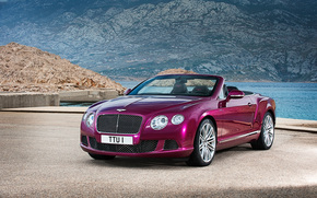 Машины: Bentley, Continental, GT, Speed, convertible, 2013