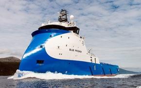 Корабли: судно, для, обслуживания, шельфовых, сооружений,