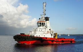 Корабли: Морской, буксир, роторные, буксиры