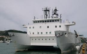 Корабли: Судно, с, малой, площадью, ватерлинии, катамаран, Kilo Moana
