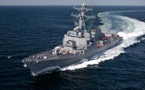Корабли: USS Jason-Dunham, Arleigh Burke class, destroyer, эсминец