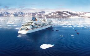 Корабли: MS Europa, cruise, ship, expedition, Greenland