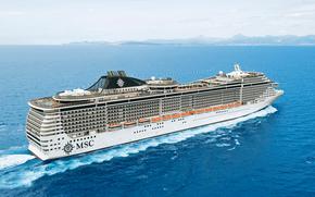 Корабли: MSC Splendida, cruise, ship
