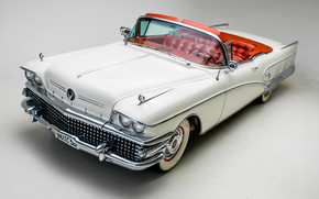 Машины: Buick, Limited, Convertible, 1958