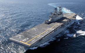 Корабли: multipurpose amphibious assault ship, USS Makin Island, LHD-8