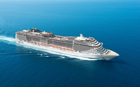 Корабли: MSC Fantasia, Cruise, Ship