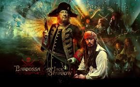 Кинозвезды: Джонни Депп, пираты карибского моря, Johnny Depp, Pirates of the Caribbean