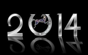 Hi-tech: новый год, 2014, год лошади