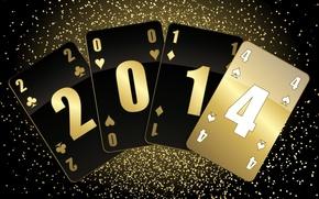 Hi-tech: новый год, 2014, карты