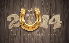 Hi-tech: год лошади, happy new year, новый год, 2014
