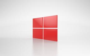Hi-tech: windows, обои, компьютер, операционная система, эмблема
