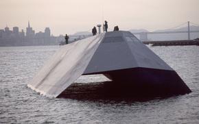Корабли: Морская, тень, корабль, стелс, США, USA