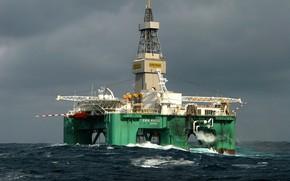Корабли: Cамоходная, нефтедобывающая, платформа, Eiric Raude