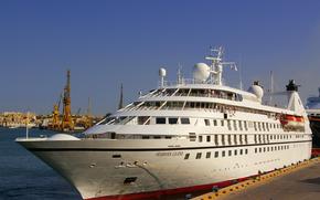 Корабли: Seabourn круизный корабль, Seabourn легенда, в Мальта