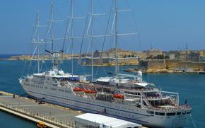 Корабли: Парусный круиз на корабле
