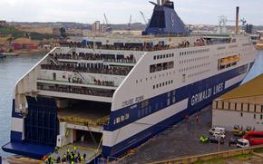 Корабли: Grimaldi Lines, круиз на корабле Рома, мальта