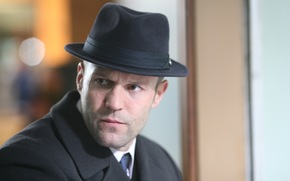 Мужчины: актер, джейсон стэтхэм, шляпа, взгляд